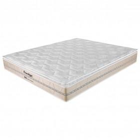 Colchão King Prorelax Bali 193x203x26 Molas Ensacadas Pillow Top Turn Free - Bege