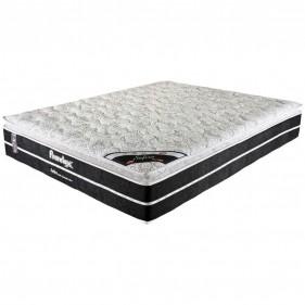 Colchão King Prorelax Safira 193x203x30 Molas Ensacadas Pillow Top Viscoelástico - Preto