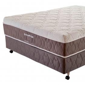 Cama Box Casal (Box + Colchão) Prorelax Pro Suavity 128x188 Pillow Top Turn Free