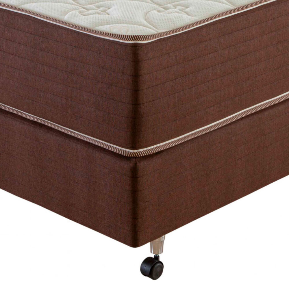 Cama Box Casal (Box + Colchão) Prorelax Pro Quality 138x188 Pillow In Turn Free