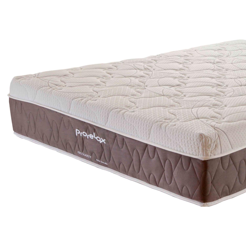 Colchão King Prorelax Pro Suavity 193x203x30 Molas Ensacadas Pillow Top Turn Free