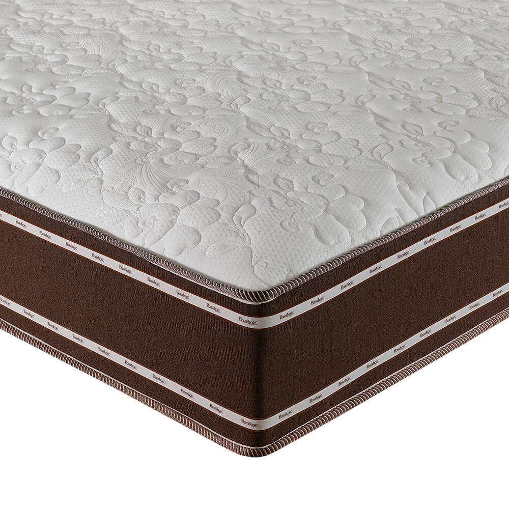 Colchão Queen Prorelax Diamante 158x198x30 Molas Ensacadas Pillow In Turn Free - Marrom