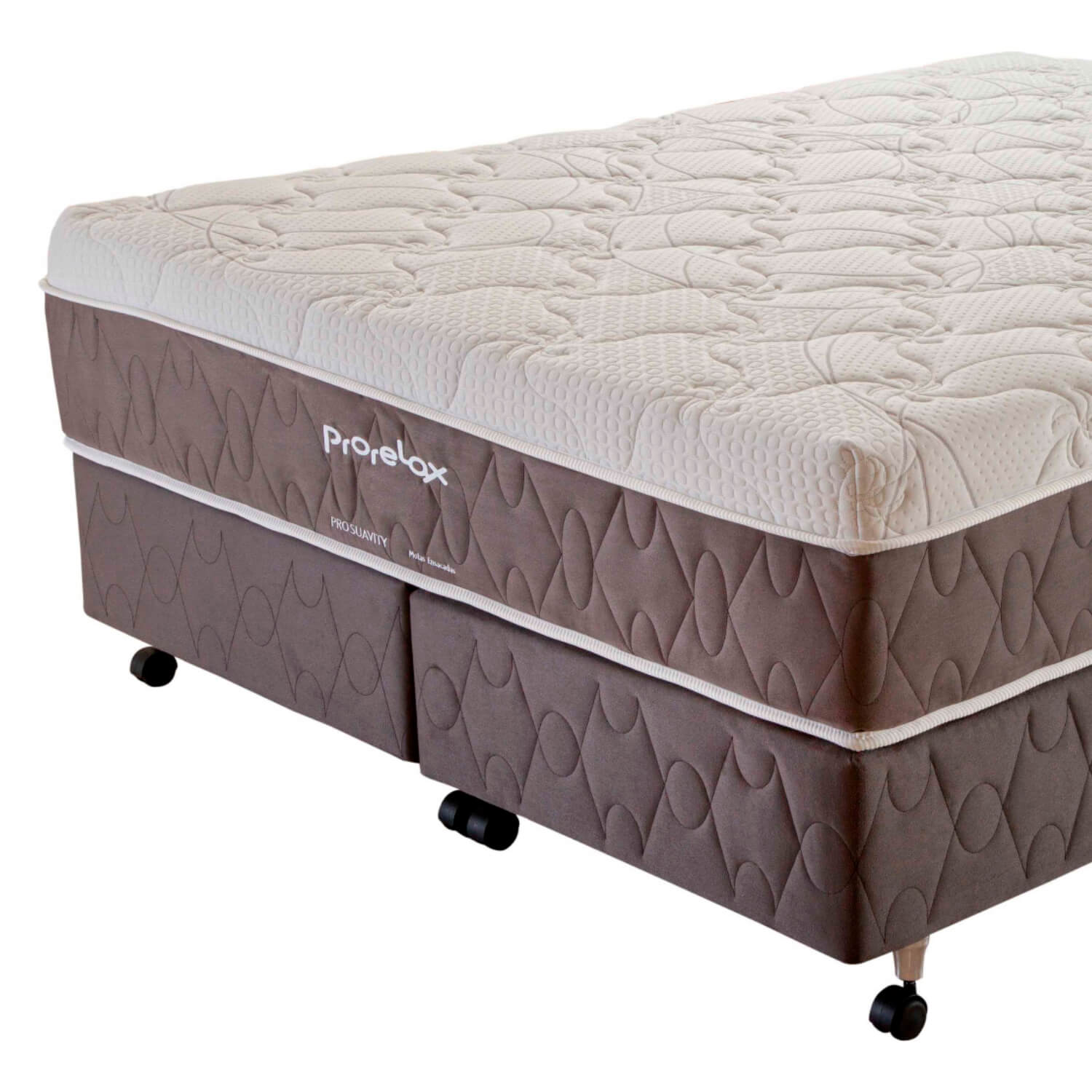 Cama Box King Size (Box + Colchão) Prorelax Pro Suavity 193x203 Pillow Top Turn Free