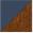 Azul Petróleo Laca/Imbuia Glazer