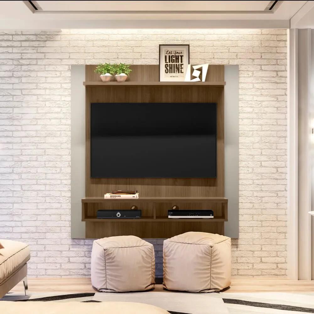 Painel Home Capri Smart para TVs de até 43 polegadas Linea Brasil