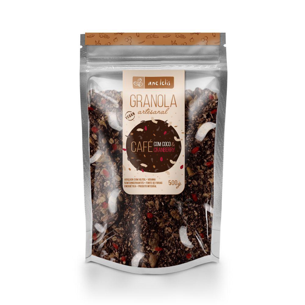 granola de café  500g  Ane Lelis