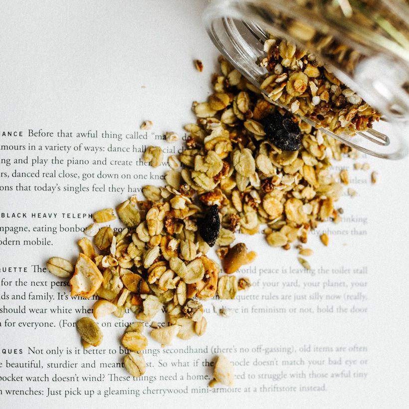 granola matchá low carb  500g  Ane Lelis