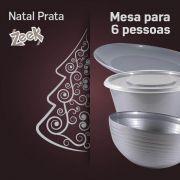 Natal Prata Zeek - 6 pessoas