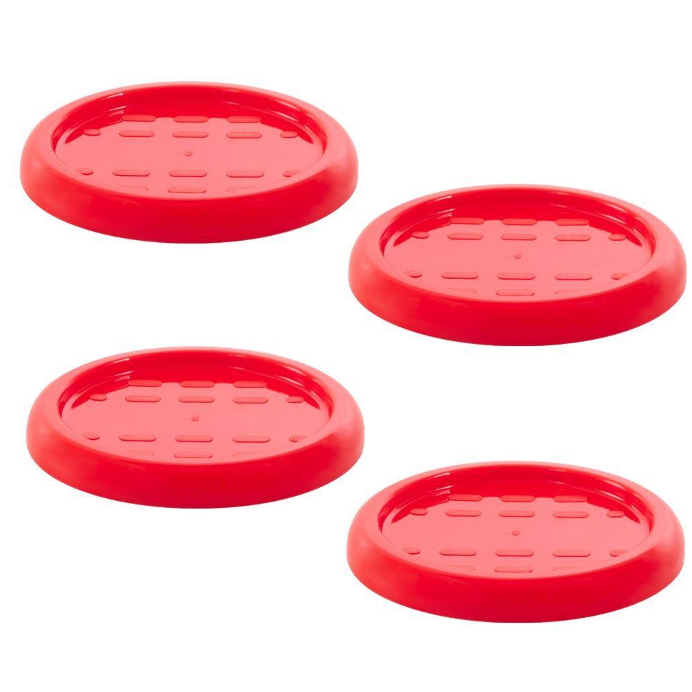 Apoio para Copos em Plástico Zeek Linha POP - 4 und