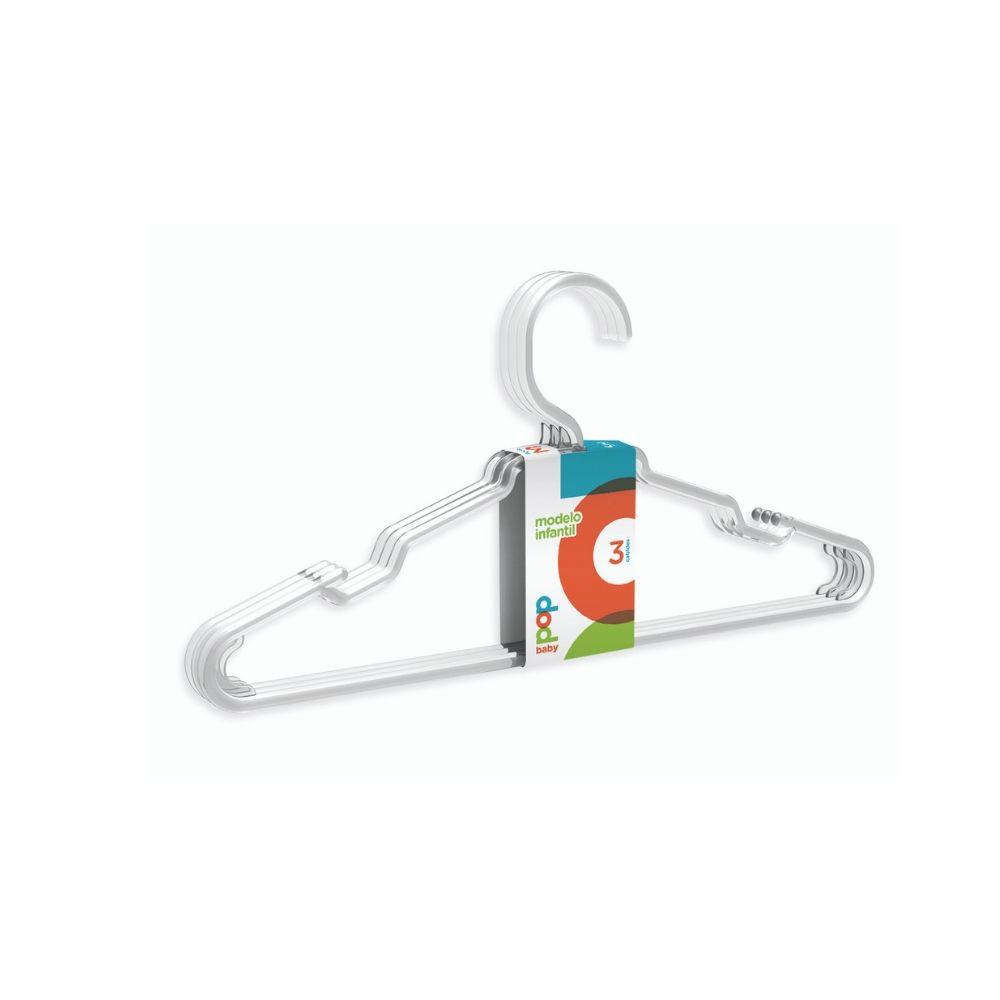 Cabide Infantil PopBaby Cristal - 03 und