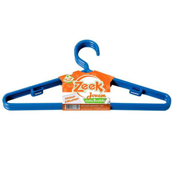 Cabide Juvenil Color Zeek - 03 und
