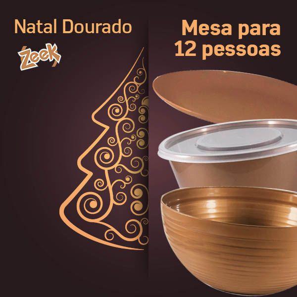Natal Dourado Zeek - 12 pessoas