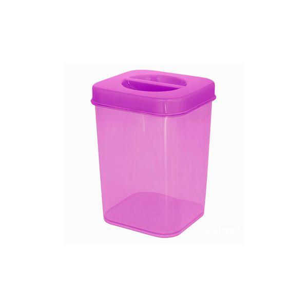Caixa Organizadora Vertical Plástica 300 ml Zeek Linha POP  (Vertical Box | Porta-Mantimentos)
