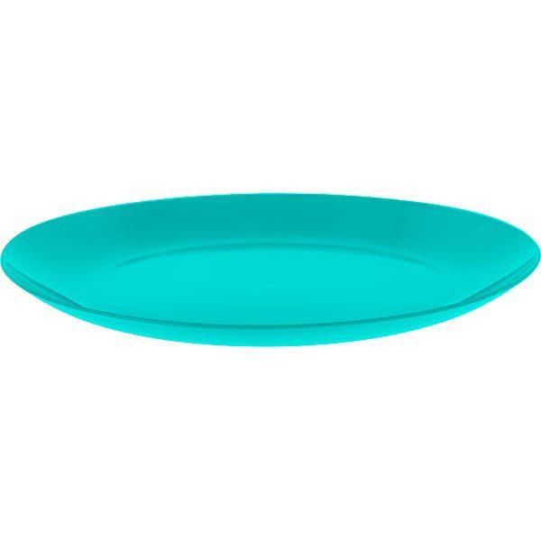 Prato Refeição em Plástico Zeek Linha POP