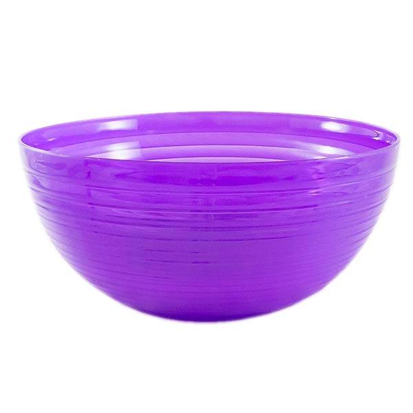 Saladeira 3,5l em Plástico Zeek Cristal