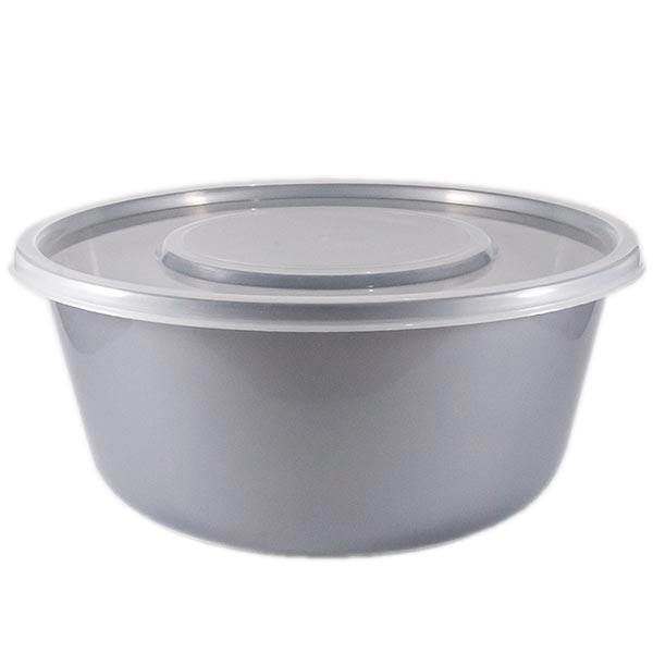 Saladeira em Plástico com Tampa 4,6 l Zeek Linha Style