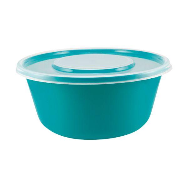 Saladeira em Plástico com Tampa 2,9 l Zeek Linha POP