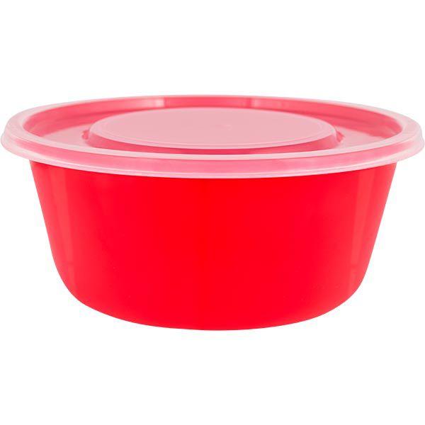 Saladeira em Plástico com Tampa 4,6 l Zeek Linha POP