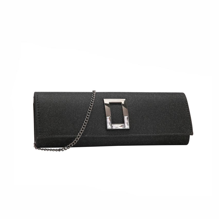Bolsa feminina clutch de festa Glamour Gala Chenson 2616
