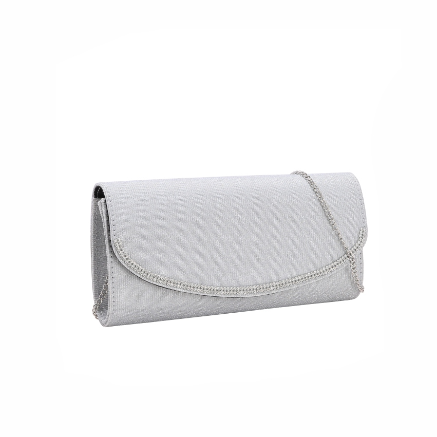 Bolsa feminina clutch de festa Glamour Gala Chenson 2617