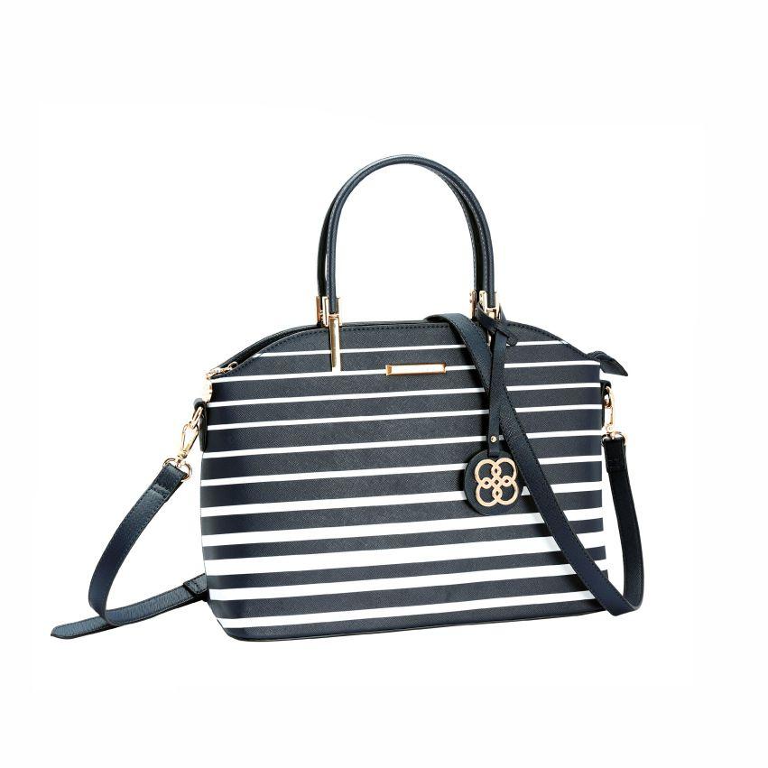 Bolsa Feminina De Mão Náutico Deluxe marinho Chenson 3481578
