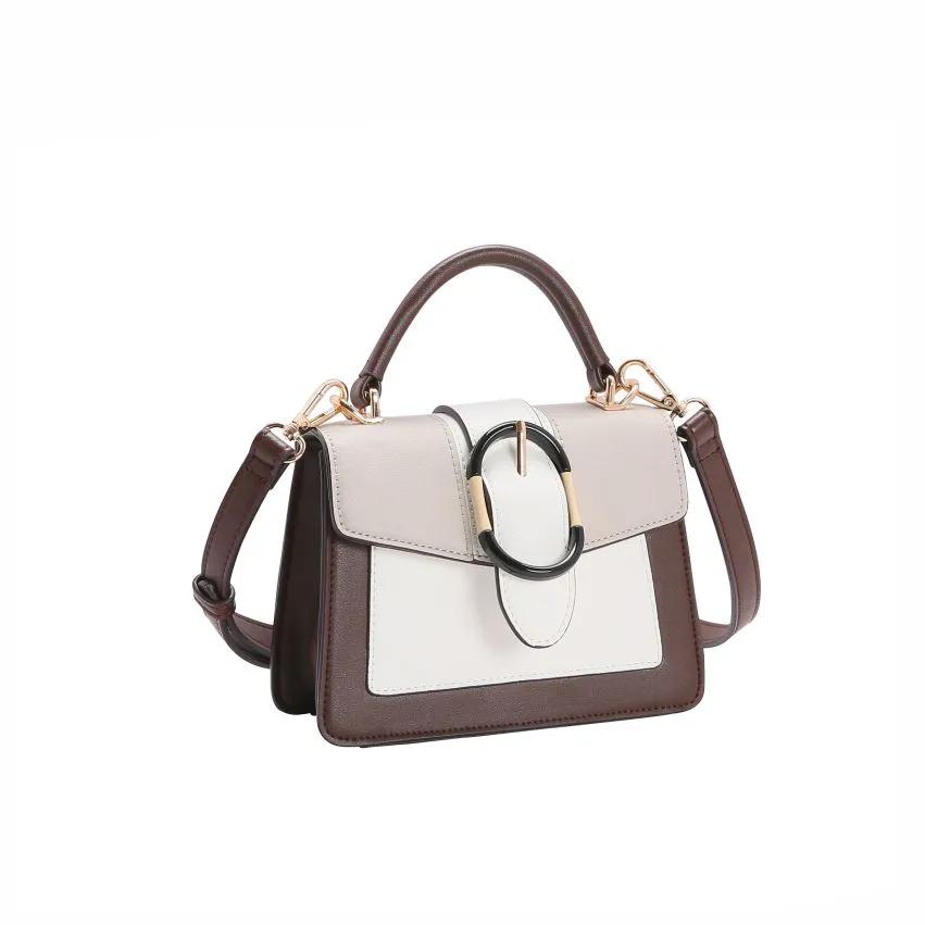 Bolsa feminina mão/transversal Mini Bags café Chenson 2956