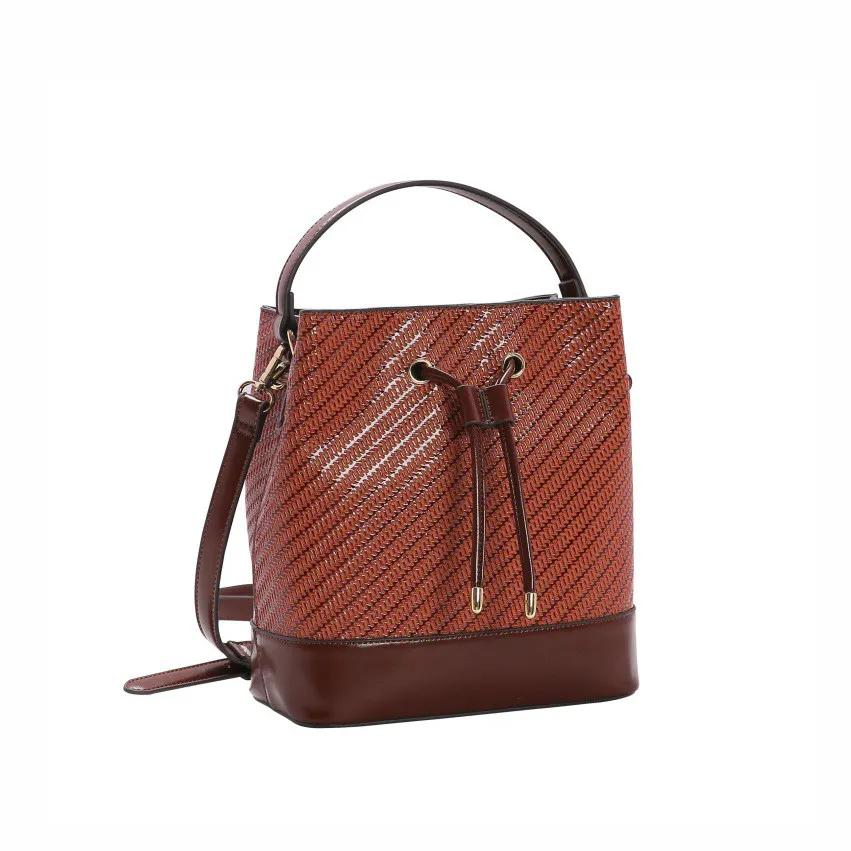 Bolsa feminina mão/transversal Tresse Brilho Chenson 2963