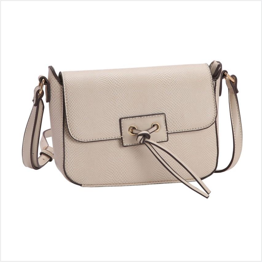 Bolsa feminina transversal Mini Lagarto Chenson 3140