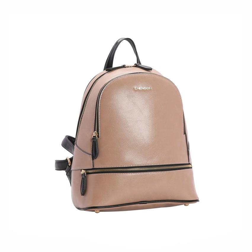 Bolsa mochila feminina de ombro Verniz Clássico Chenson 2660/2975