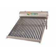 Kit Aquecedor Solar A Vácuo Acoplado Boiler 134 Litros - 15 Tubos