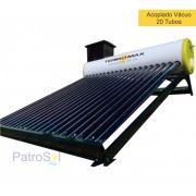 Aquecedor Solar Acoplado 200 Litros MAX VÁCUO 20 Tubos TERMOMAX