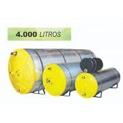 Boiler para Aquecedor Solar 4000 Litros - Inox (Reservatório Térmico)