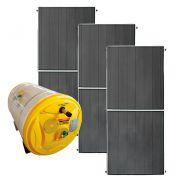 Kit Aquecedor Solar – Boiler 500 Litros Nível/Desnível Baixa Pressão + 3 placas 2x1m cobre
