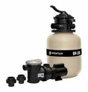 Kit Filtro BR-20 e Bomba 1/4 cv para Piscina até 19.200 Litros