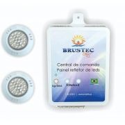 KIT ILUMINAÇÃO PISCINA POWER LED ABS BRUSTEC
