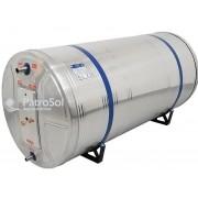Reservatório Térmico Boiler para Aquecedor Solar 400L Baixa Pressão Aço Inox 304 Desnível Unisol