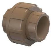 """União PVC Soldável 50mm 1.1/2"""" - Tigre"""