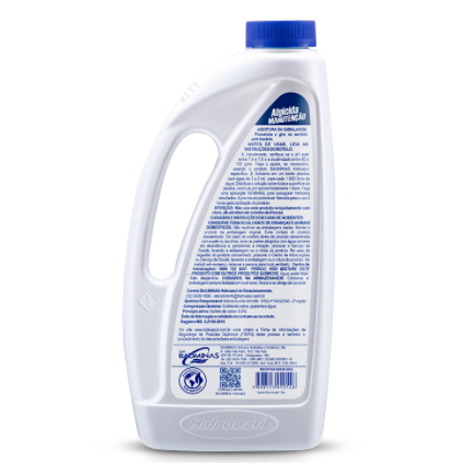Algicida Manutenção 1 Litro  Hidroazul