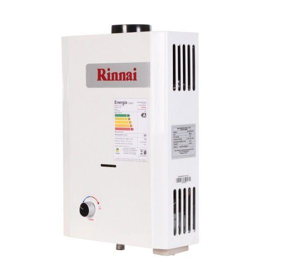 Aquecedor de Água Rinnai M07 BP – Vazão 7,5 L/min – Baixa Pressão – Gás GN