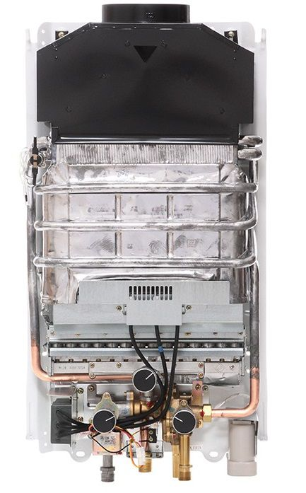 Aquecedor de Água Rinnai M15 CF Vazão 15 L/min –Gás GN