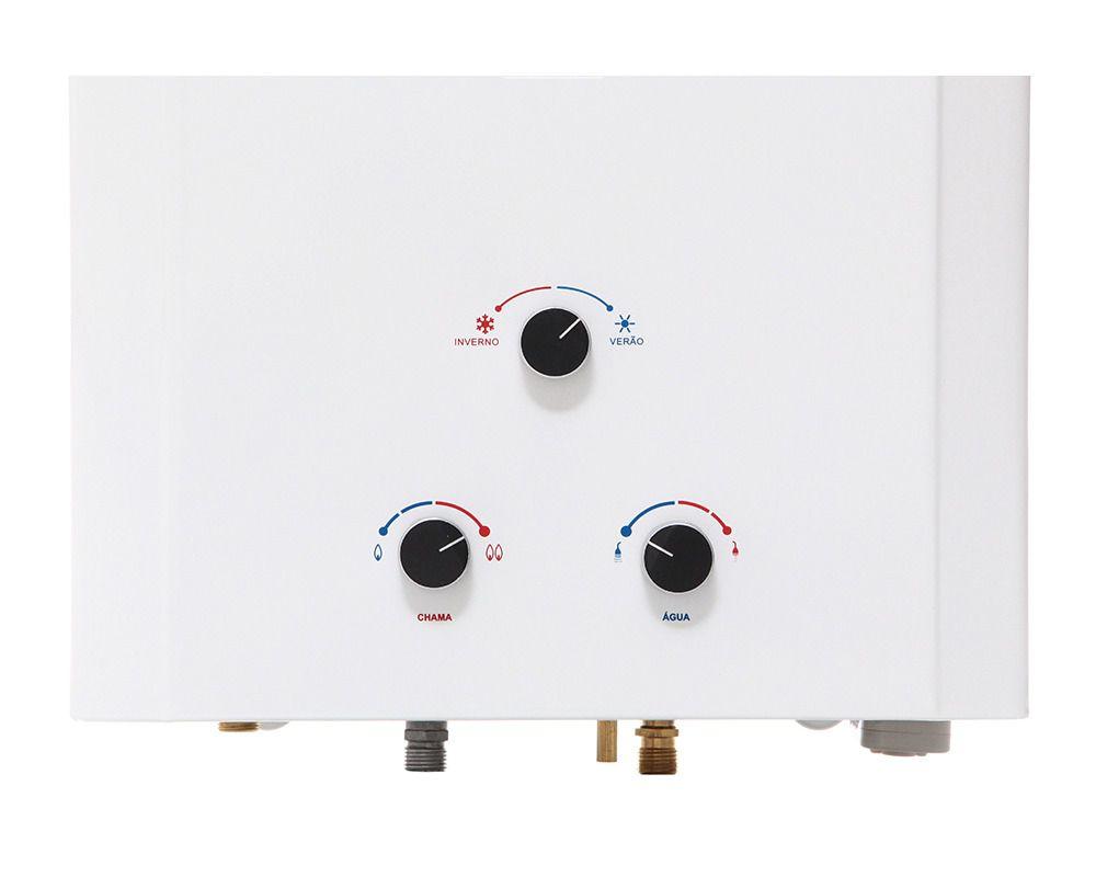 Aquecedor de Água Rinnai M20 - Vazão 20 L/min –Gás GN