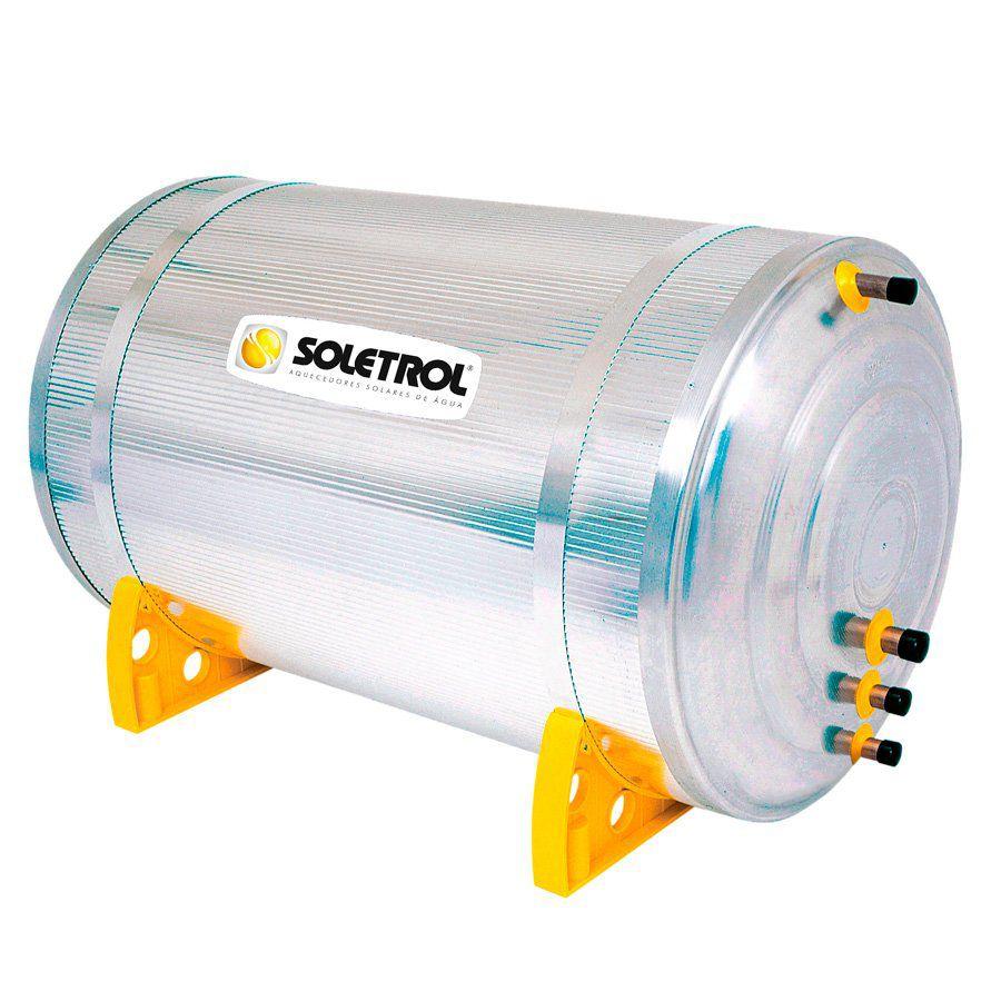 Kit Aquecedor Solar Soletrol 300 Litros Digital com Coletores Solares de 2.0m² - Baixa Pressão