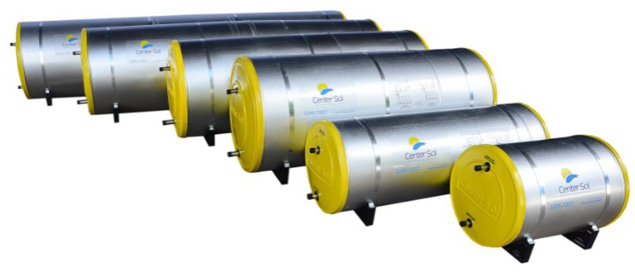 Boiler Para Aquecedor Solar 1000 litros  Baixa Pressão Inox 304 Nível/Desnível