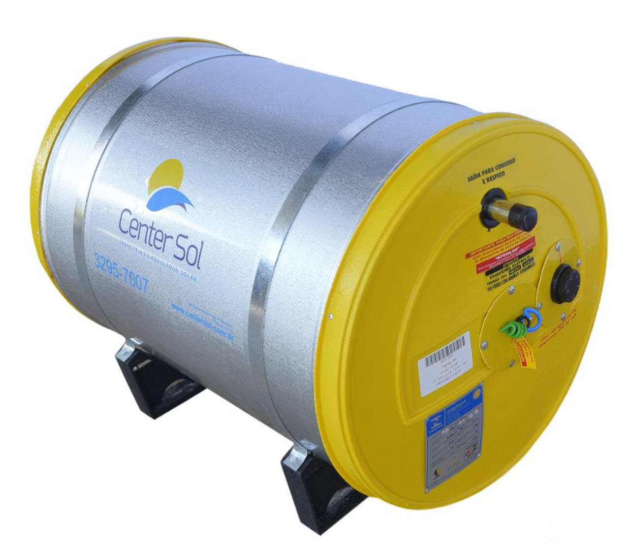 Boiler Para Aquecedor Solar 100 litros – Baixa Pressão Inox 304 Nível/Desnível