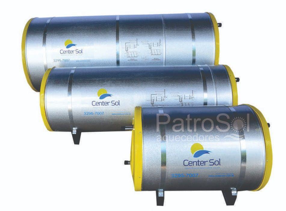 Boiler Para Aquecedor Solar 100 litros – Baixa Pressão Nível/Desnível
