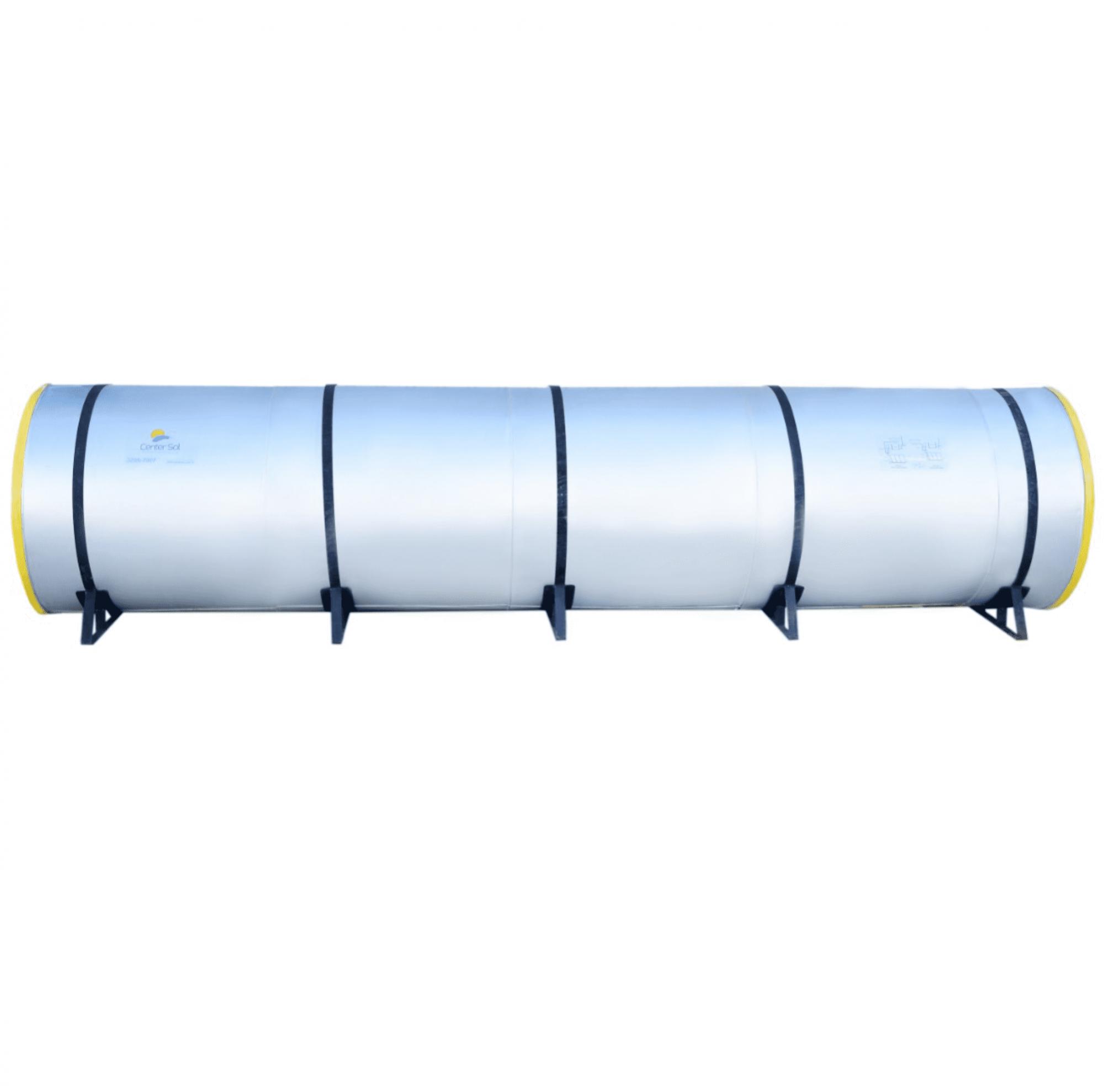 Boiler para Aquecedor Solar 2000 Litros - Inox (Reservatório Térmico)