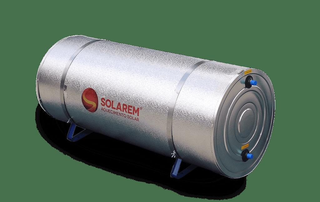 Boiler Para Aquecedor Solar 200 Litros – Baixa Pressão Inox 304 Desnível Solarem