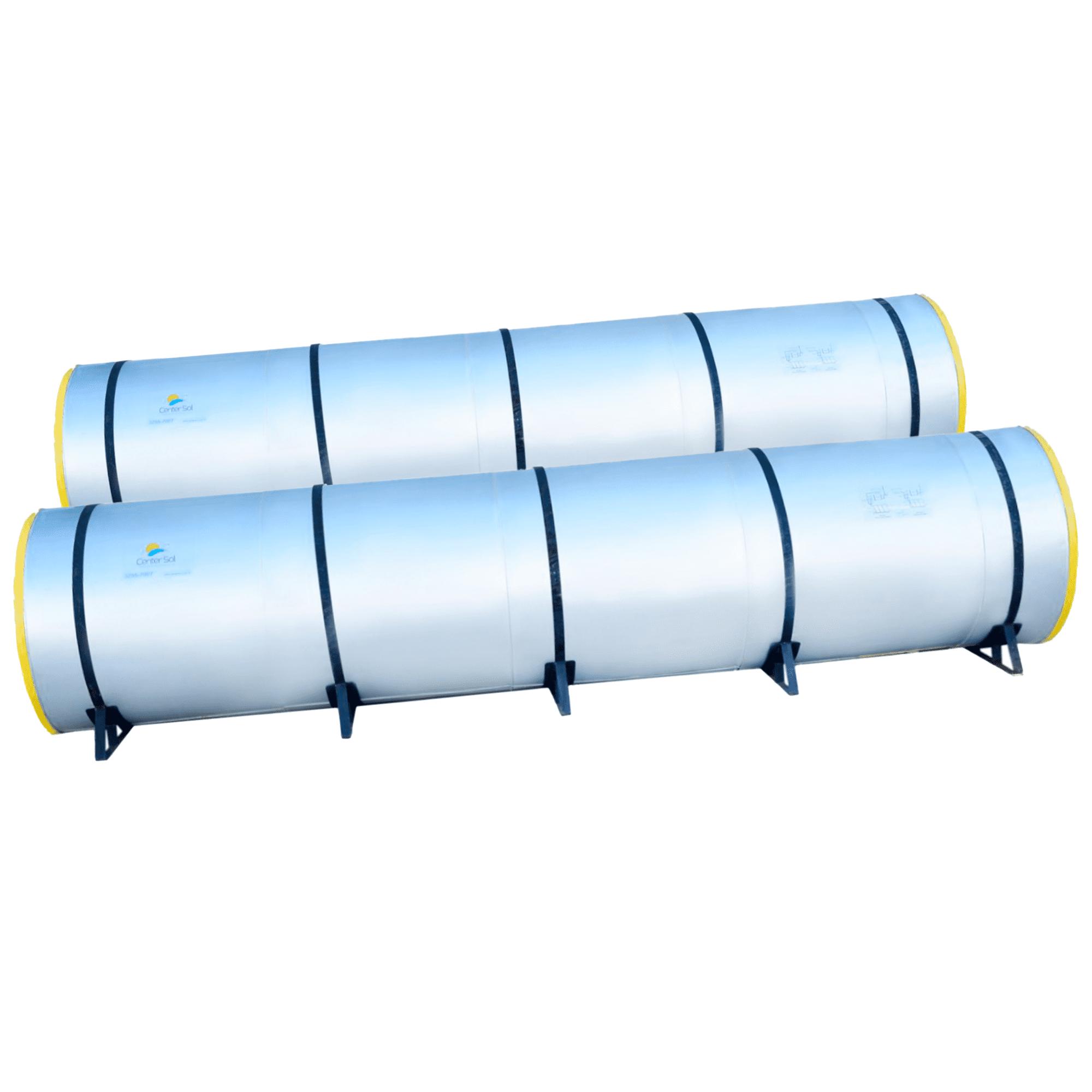 Boiler para Aquecedor Solar 3000 Litros - Inox (Reservatório Térmico)