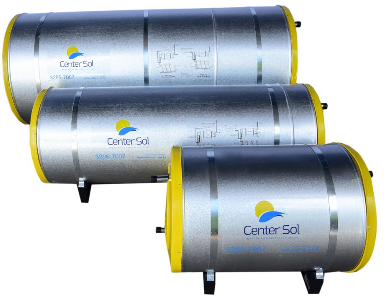 Boiler Para Aquecedor Solar 500 litros – Baixa Pressão Nível/Desnível