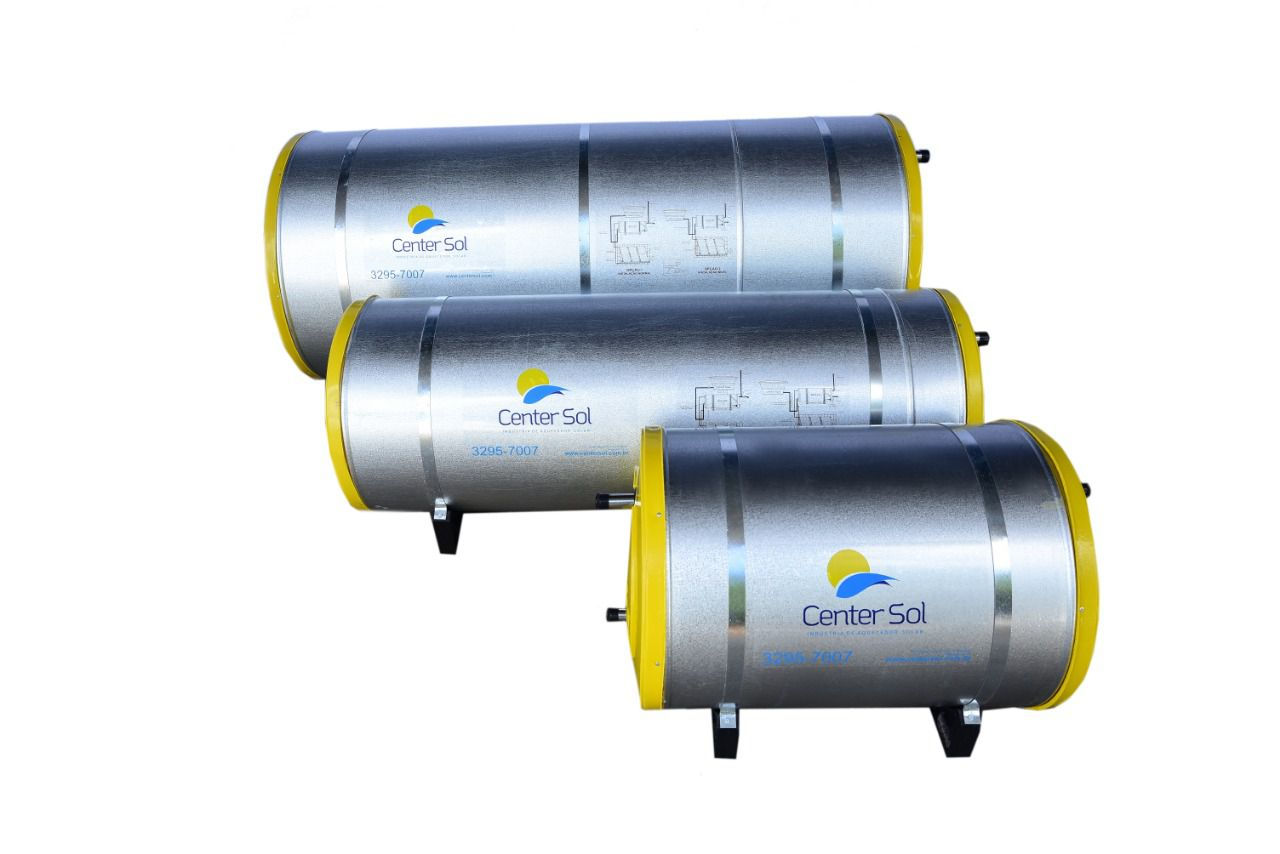 Boiler/Reservatório para Aquecedor Solar 500 Litros Inox– Alta Pressão